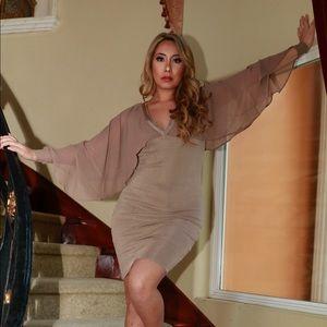 Dresses & Skirts - Thea Chiffon Sleeve Dress